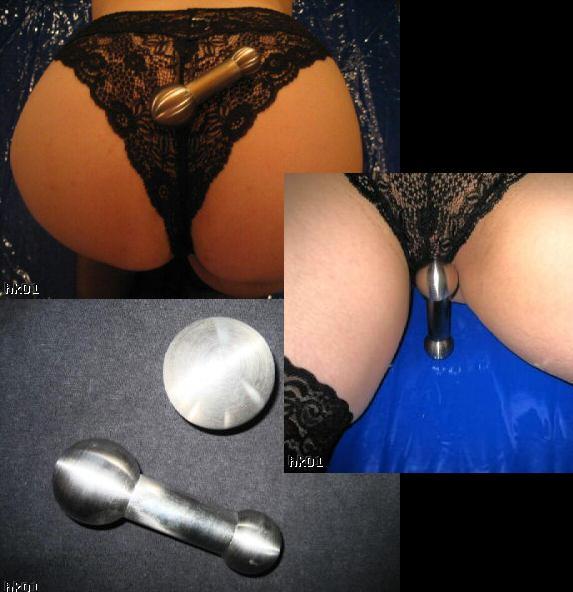 sm studio bremen edelstahl anal plug