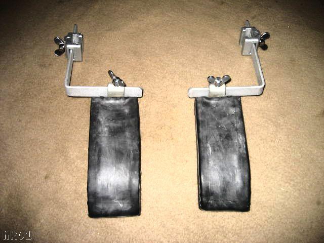1 satz schulterhalter incl genormter flachschienen u kloben f r gynstuhl fickstuhl edelstahl. Black Bedroom Furniture Sets. Home Design Ideas